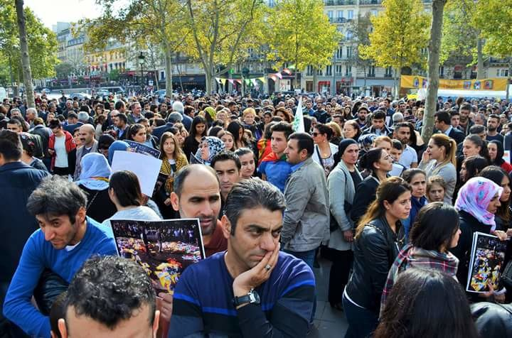 Paris protest 2015 Ankara bombings (4)