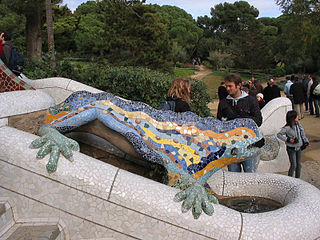 ParkGuell Dragon tim.JPG