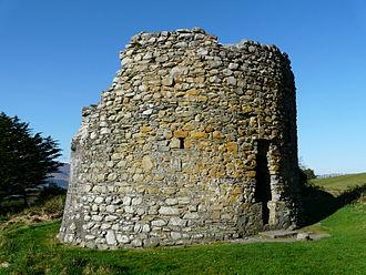 Parkavonear Castle - Remains of the Parkavonear Castle keep