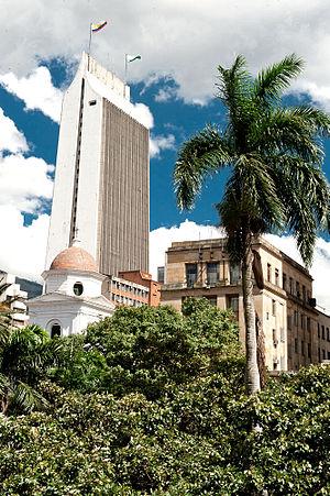 Parque Berrío Medellín