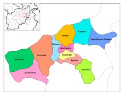 Vị trí của Jabal Saraj