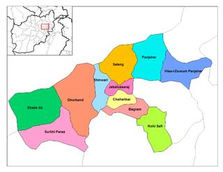 Jabal Saraj District District in Parwan Province, Afghanistan