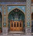 Parvin E'tesami tomb in Atabaki sahn in Fatima Masumeh Shrine, Qom,Iran2.jpg