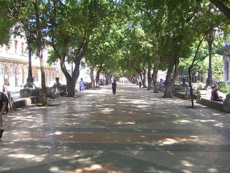 Paseo del Prado, Havana - Paseo del Prado, promenade