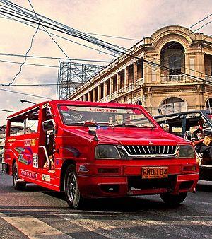 Jeepney - A passad jeepney of Iloilo City.