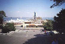 Il porto di Odessa ai nostri giorni