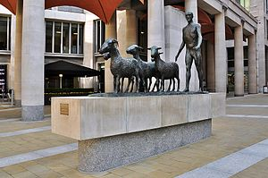 Paternoster Sculpture, Paternoster Square.JPG