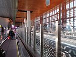 Pathway to arrivals at Hamad Airport, May 2014 (1).jpg