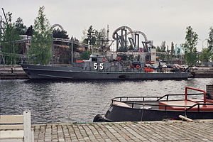 R-class patrol boat - Image: Patrol Boat 55 in Tampere May 2010
