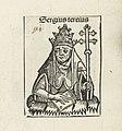 Paus Sergius III Sergius tercius (titel op object) Liber Chronicarum (serietitel), RP-P-2016-49-64-5.jpg