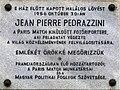 Pedrazzini plaque in Budapest.jpg