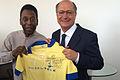 Pelé presents Geraldo Alckmin a signed jersey 2014.jpg