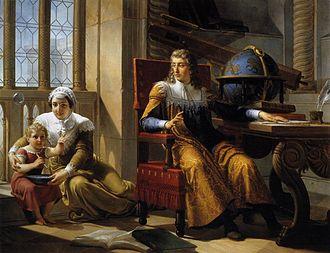Pelagio Palagi - Newton Discovers Refraction of Light (1827)