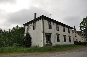 Pembroke, Maine - The old IOOF hall