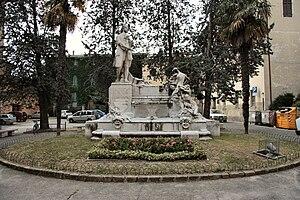 Deutsch: Pergolesi Denkmal in Jesi (Marken)