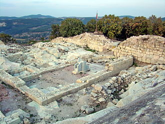 Perperikon - The Church (Cathedral)