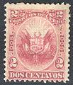 Peru 1880 Sc31 rose.jpg