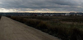 Pervomaisk, Mykolaiv Oblast - Skyline of Pervomaisk