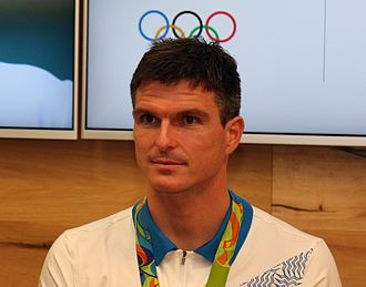 Peter Kauzer - Peter Kauzer at a promotional event with olympic medallists (2016)