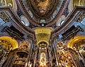 Peterskirche dome and altar (Vienna).jpg