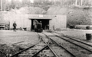 Gustaf Wrede - Petsamo nickel mine in the 1930s.