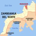 Ph locator zamboanga del norte manukan.png