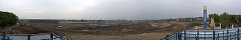 Panoramic view of the future Phoenix-Lake from...