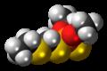 Phorate molecule spacefill.png