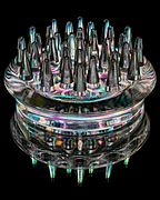 Photoelasticity - Spiked castor cup.jpg