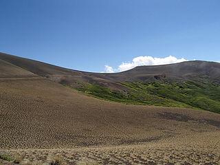 Pichachen Pass gap in Argentina