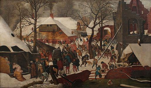 Pieter Brueghel II - L'adoration des mages dans la neige.jpg