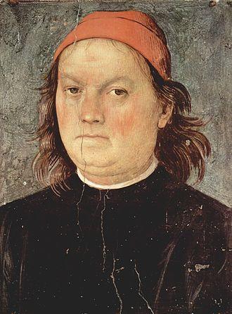 Pietro Perugino - Self-portrait, 1497–1500