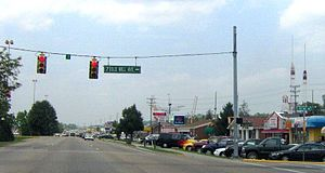 Pigeon Forge, Tennessee - The Parkway (US-441) in Pigeon Forge