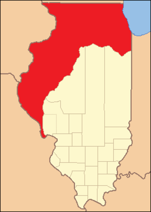 Pike County, Illinois - Image: Pike County Illinois 1821