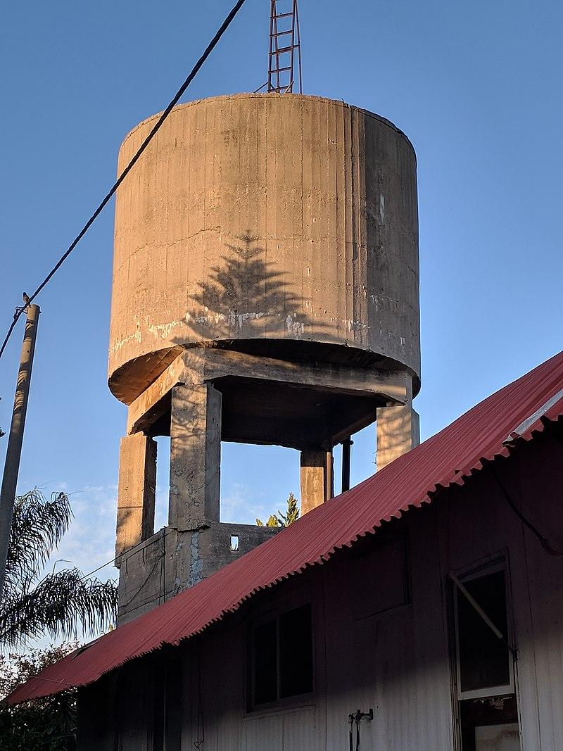 מגדל המים במושב ירקונה