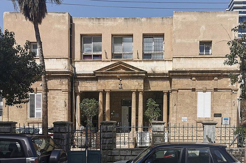הבית ברחוב יהודה הלוי 19 בתל אביב