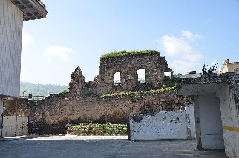 חומה נסתרת בטבריה