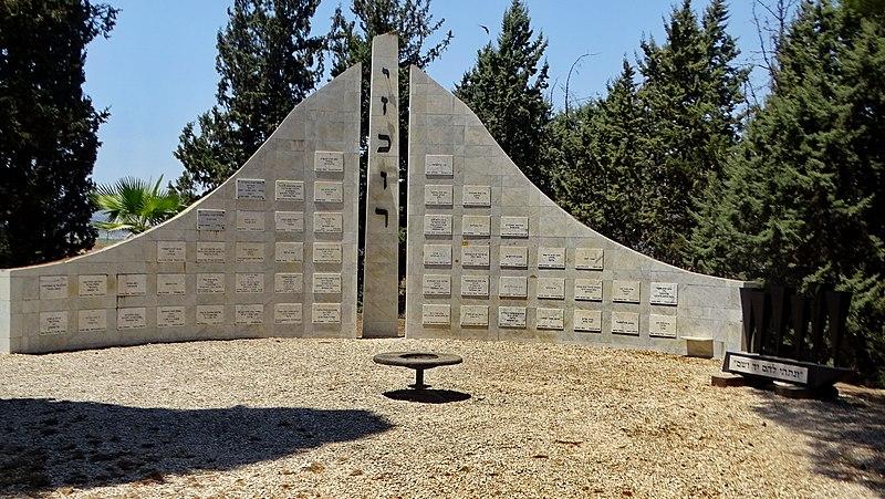 אנדרטה לשואה בקיבוץ דברת
