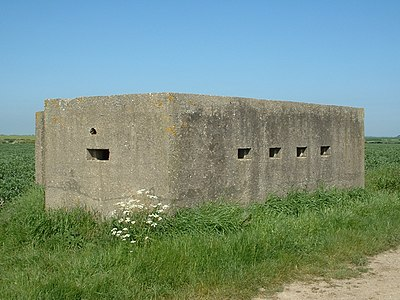 Pillbox Lozenge, Atwick (front).JPG