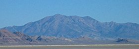 A photo of Pilot Peak, the highest point in the range