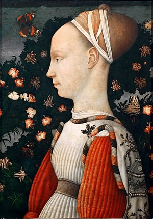 Ginevra d'Este - Image: Pisanello 016
