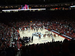 New Mexico Lobos men's basketball - Image: Pit inside