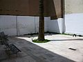 Placeta amb palmera pel carrer Palma, el Carme, València.JPG
