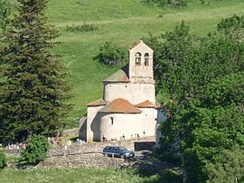 The church in Planès