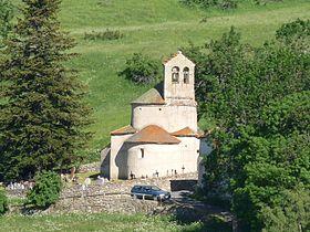 L'église de Planès