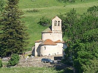 Planès - The church in Planès