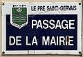 Plaque Passage Mairie - Le Pré-Saint-Gervais (FR93) - 2021-04-28 - 3.jpg