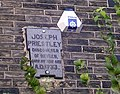 Plaque on Joseph Priestley birthplace - geograph.org.uk - 78109.jpg