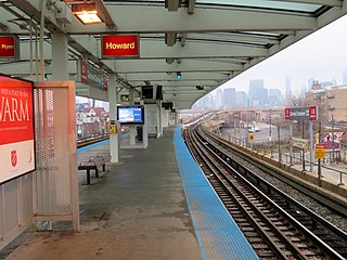 "Cermak–Chinatown station Chicago ""L"" station"