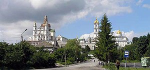 Volhynia - Pochayiv Lavra, the spiritual heart of the Orthodox in Volhynia.
